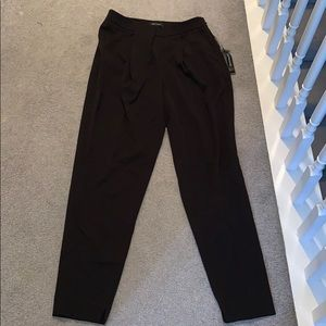WHBM Back Tapered Ankle Dress Pants